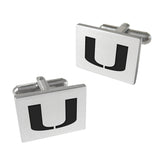 Miami Hurricanes Cuff Links