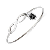 Missouri State Bears Infinity Bangle Bracelet with Free Shipping