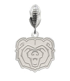 Missouri State Bears Natural Color Dangle Charm