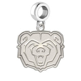 Missouri State Bears Natural Finish Logo Dangle Charm