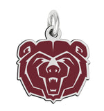 Missouri State Bears School Color Logo Charm