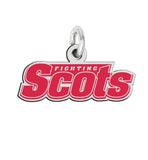 Monmouth Fighting Scots Sterling Silver Logo Charm