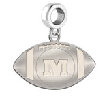 Monmouth Fighting Tigers Dangle Charm