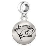 New Hampshire Wildcats Round Drop Charm