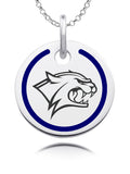 New Hampshire Wildcats Round Enamel Charm