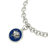 New Hampshire Wildcats Silver Charm Bracelet