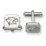 New Hampshire Wildcats Stainless Steel Cufflinks