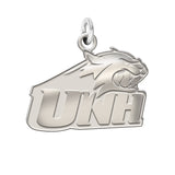 New Hampshire Wildcats Sterling Silver Natural Finish Charm