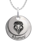 New Mexico Lobos Alumni Necklace