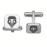 New Mexico Lobos Stainless Steel Cufflinks