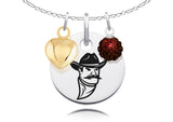 New Mexico State Aggies Necklace with Charm Accents