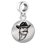 New Mexico State Aggies Round Drop Charm