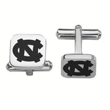 North Carolina Tar Heels Stainless Steel Cufflinks