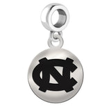 North Carolina Tar Heels Round Drop Charm