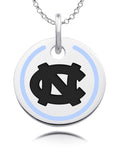 North Carolina Tar Heels Round Enamel Charm