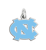 North Carolina Tar Heels Sterling Silver Logo Charm