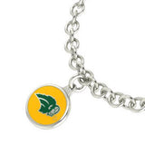 North Dakota State Bison Charm Bracelet