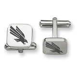 North Texas Mean Green Eagles Stainless Steel Cufflinks