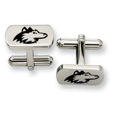 Northern Illinois Huskies Rectangular Cufflinks