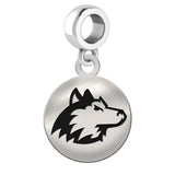 Northern Illinois Huskies Round Drop Charm