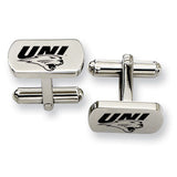 Northern Iowa Panthers Rectangular Cufflinks
