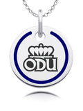 Old Dominion Monarchs Round Enamel Charm