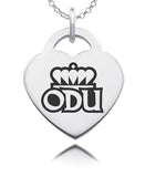 Old Dominion Sterling Silver Heart Charm