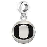 Oregon Ducks Round Drop Charm