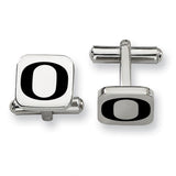 Oregon Ducks Stainless Steel Cufflinks