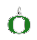 Oregon Ducks Sterling Silver Logo Charm