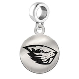 Oregon State Beavers Round Drop Charm