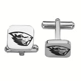 Oregon State Beavers Stainless Steel Cufflinks