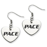 Pace Setters Heart Drop Earrings