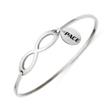 Pace Setters Infinity Bangle Bracelet with Free Shipping
