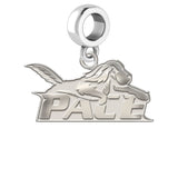 Pace Setters Natural Finish Logo Dangle Charm
