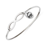 Quinnipiac Bobcats Infinity Bangle Bracelet with Free Shipping