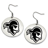 Seton Hall Pirates Stainless Steel Disc Earrings