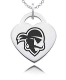 Seton Hall Pirates Sterling Silver Heart Charm