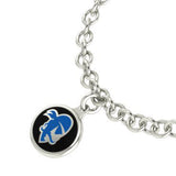 Seton Hall Pirates Silver Charm Bracelet