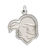 Seton Hall Pirates Sterling Silver Natural Finish Charm