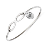 South Carolina Gamecocks Infinity Bangle Bracelet with Free Shipping