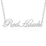 Southeast Missouri Redhawks Sterling Silver Cutout Script Necklace