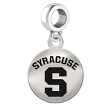 Syracuse Orange Round Drop Charm