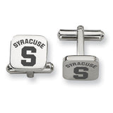 Syracuse Orangemen Stainless Steel Cufflinks