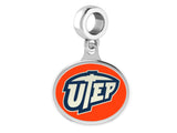 Texas El Paso UTEP Miners Dangle Charm Fits All European Style Bracelets