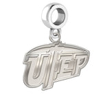 Texas El Paso Miners Natural Finish Logo Dangle Charm