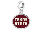 Texas State Bobcats Dangle Charm Fits All European Style Bracelets