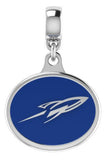 Toledo Rockets Silver Drop Charm Fits All European Style Bracelets