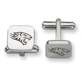 Towson Tigers Stainless Steel Cufflinks