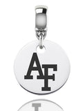 Air Force Falcons Round Drop Charm